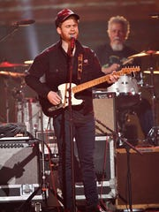 Ben Haggard performs at the Merle Haggard tribute concert