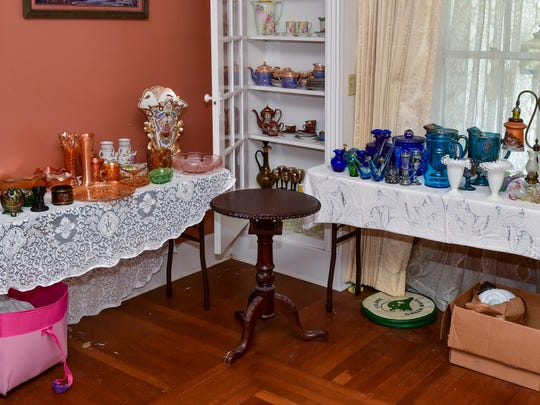 Estate sale being held at the home that belonged to Youngsville Physician, Dr Roy Young. April 5, 2016.