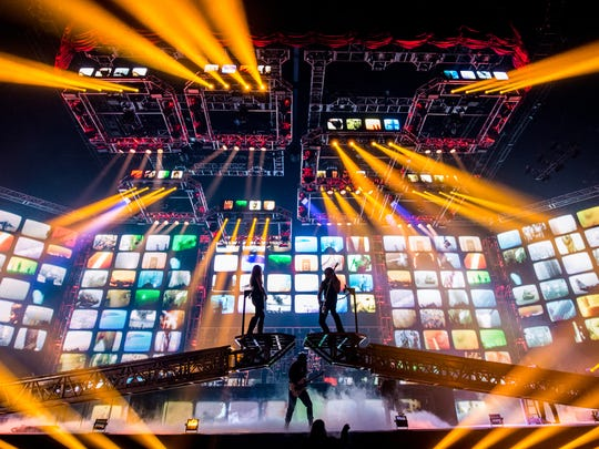 "This year's Trans-Siberian Orchestra winter tour features ""The Ghosts of Christmas Eve"" and has two touring companies playing 105 shows in 61 cities in 45 days."