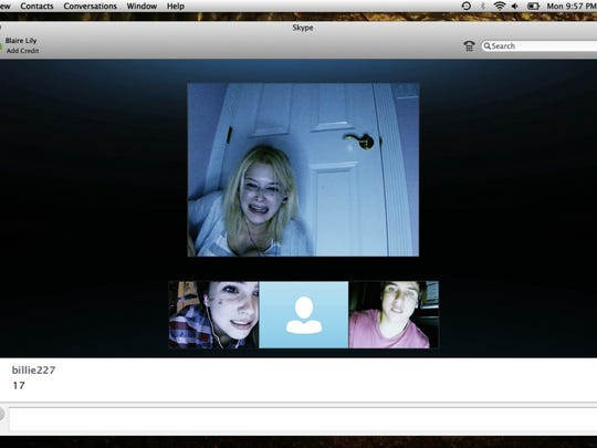 "Shelley Hennig and Moses Jacon and Renee Olstead have a killer conversation in ""Unfriended."""