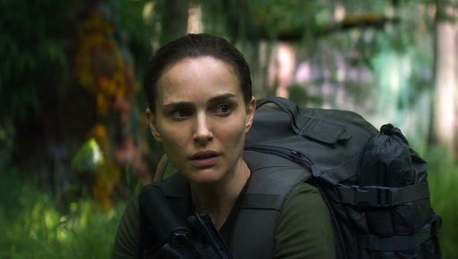 """Natalie Portman stars in """"Annihilation."""" The movie is playing at Regal West Manchester Stadium 13 and R/C Hanover Movies."""