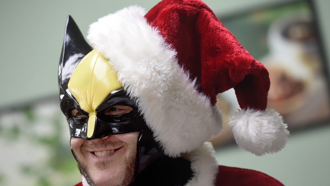 Watch: The Central Pa. Avengers bring gifts to children