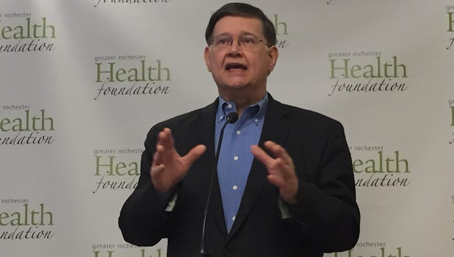 John Urban, president and chief executive officer of the Greater Rochester Health Foundation, said work is beginning on improving mental health services for children.