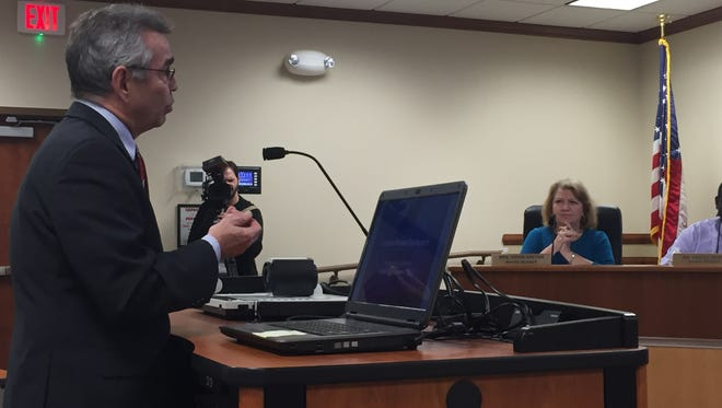 Bill Craig, the lead evaluator with AdvancED, said the six-person team recommends that the Monroe City School System be recommended for accreditation.