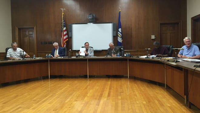The Ouachita Parish School Board met Tuesday night.