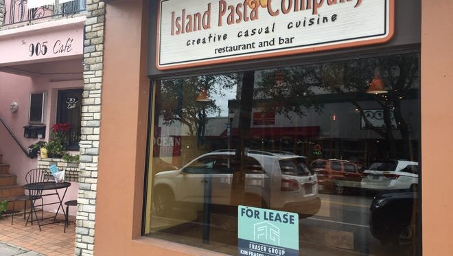 The Island Pasta Company space in downtown Melbourne is now available for lease.