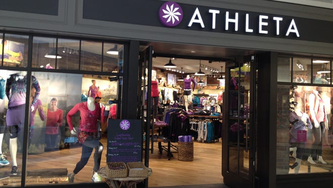 Athleta will open a store in July in the Fox River Mall. Shown here, an Athleta store in Minneapolis.
