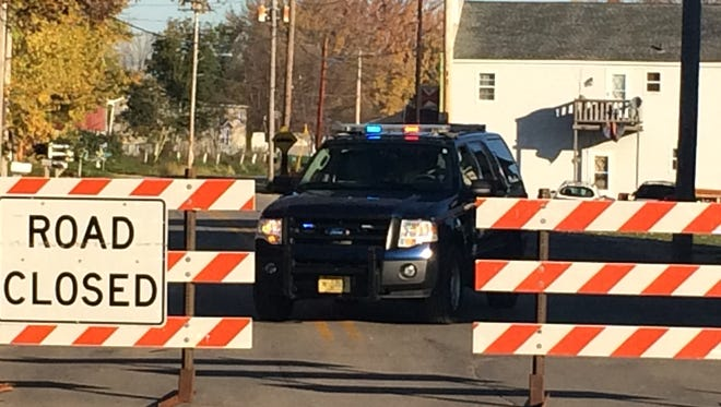 Travel is restricted while the sheriff's department is in a standoff with a barricaded person.