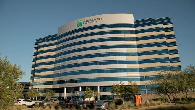 Bank of the West plans to hire 1,000 people at this facility in Tempe.