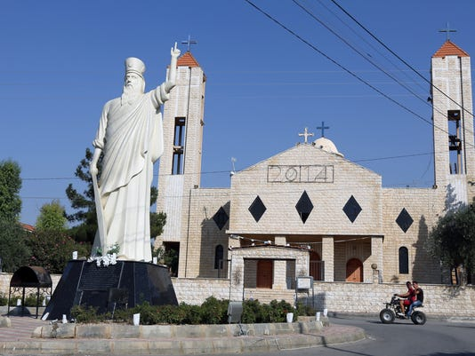 Mideast Lebanon Christians in Peril