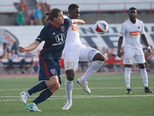 North Carolina FC at Indy Eleven Photo: Matt Schlotzhauer