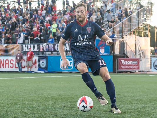 San Francisco Deltas at Indy Eleven Photo: Matt Schlotzhauer
