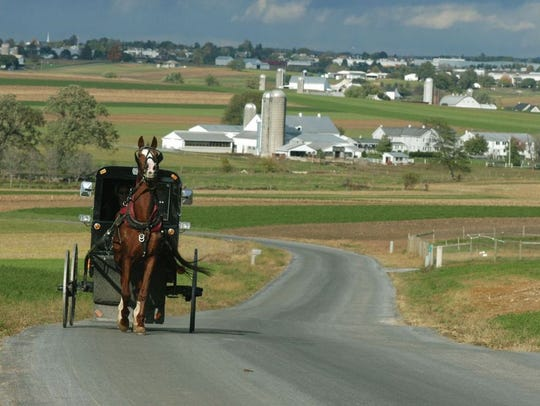 The oldest Amish settlement in the United States can