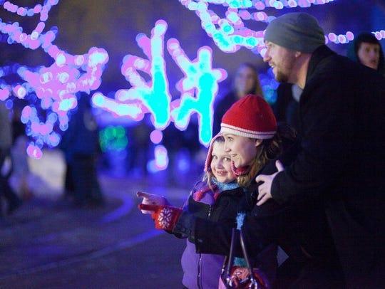 Christmas at the Zoo at the Indianapolis Zoo ranks