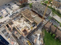 Video: Viewing Iowa City from 250 feet off the ground
