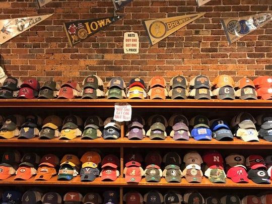 The Vault sells sports apparel and memorabilia.
