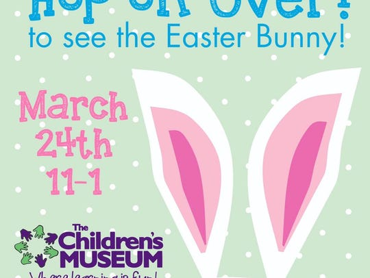 The Easter Bunny is hopping to the Children's Museum