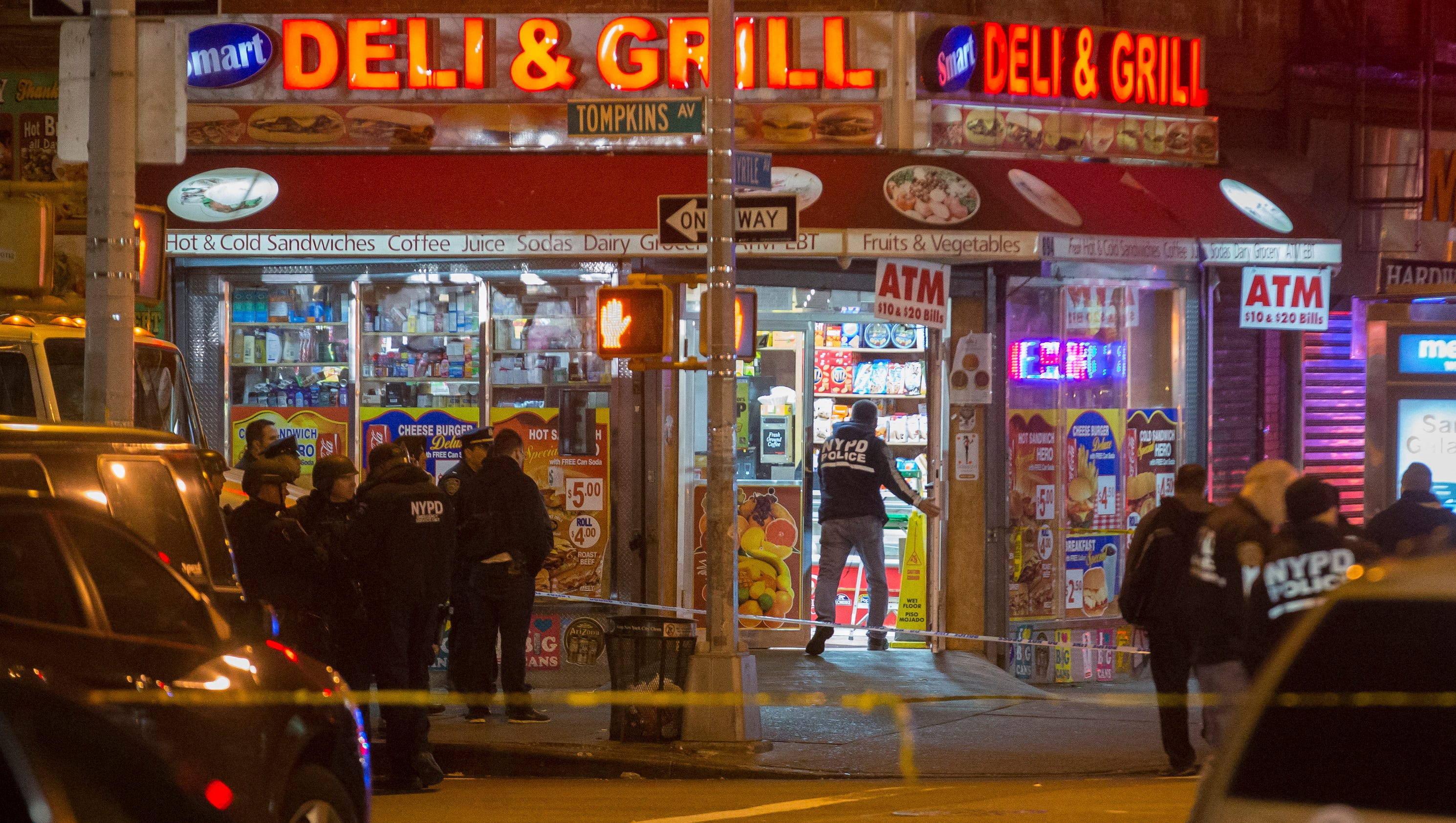 nypd officers killed in ambush style shooting