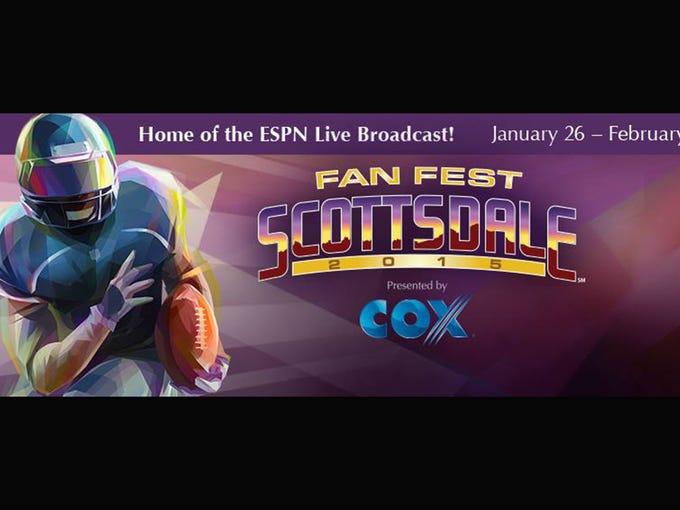 1/26-2/1: Scottsdale Fan Fest: The free family-friendly