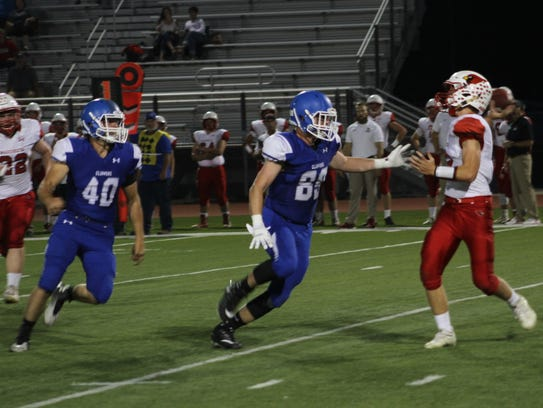 Clear Creek Amana defeated Maquoketa Friday, Sept.
