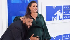 DJ Khaled and Nicole Tuck have welcomed a baby boy.