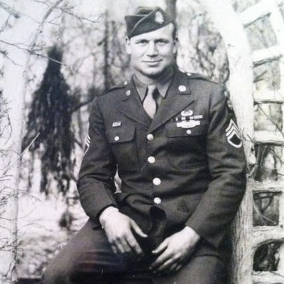 U.S Army Sgt. Joesph Green earned a Bronze Star with