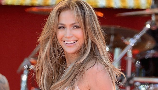"""Jennifer Lopez performs on ABC's """"Good Morning America"""" on June 20 in New York."""