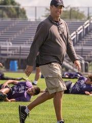 Matt Miller has announced he will step down as head football coach at Lakeview.