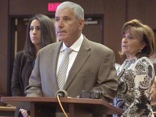 Wayne Friedland, the father of murder victim Dustin
