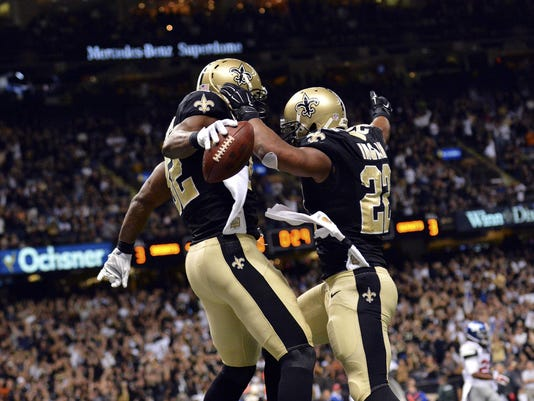 NFL: New York Giants at New Orleans Saints