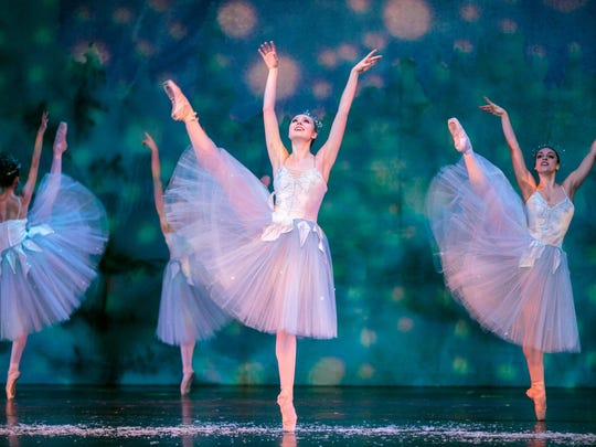 Rochester City Ballet, the Rochester Philharmonic Orchestra and the Bach Children's Chorus present their final performance of Tchaikovsky's holiday classic The Nutcracker at 2 p.m. Sunday at Kodak Hall at the Eastman Theatre.