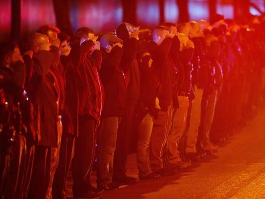 APTOPIX Chicago Hospital Shots Fired