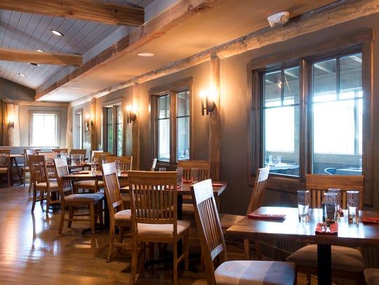 Dancing Bear Lodge's Appalachian Bistro is at 7140 East Lamar Alexander Parkway.