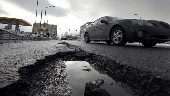 Michigan spends less per driver on roads than any other state, according to a state Transportation Department review.