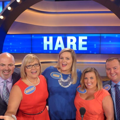 The Hare Family of Louisville competes on Family Feud starting Friday