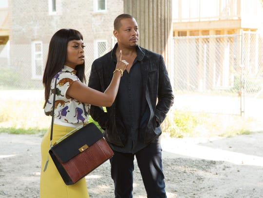 Cookie (Taraji P. Henson) and Lucious (Terrence Howard)