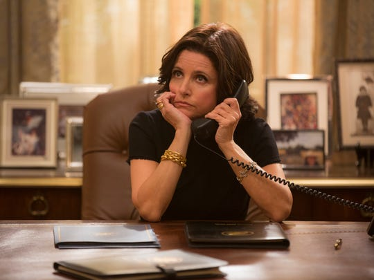 Selina Meyer (Julia Louis-Dreyfus) deals in the funny