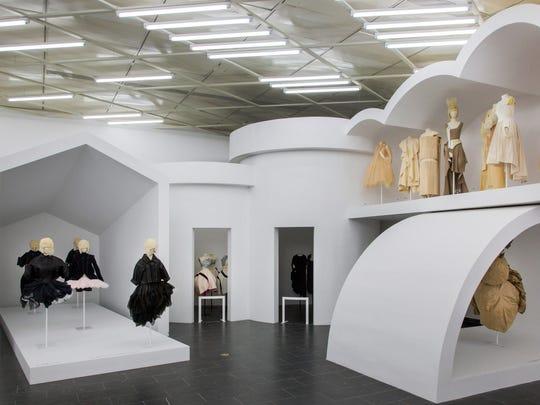 Sections 2 through 5 of the Met's new exhibit, Rei