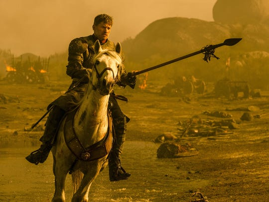 This image released by HBO shows Nikolaj Coster-Waldau