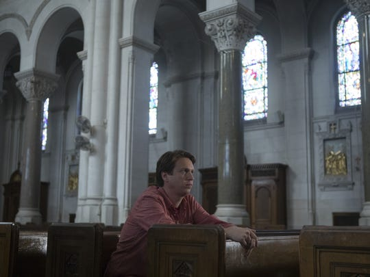 Pete (Pete Holmes) is torn between comedy and Christ in the second season of HBO's 'Crashing.'