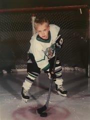 University of Michigan hockey star Cooper Marody got