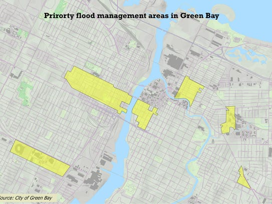 Six areas identified as having priority needs for storm-water