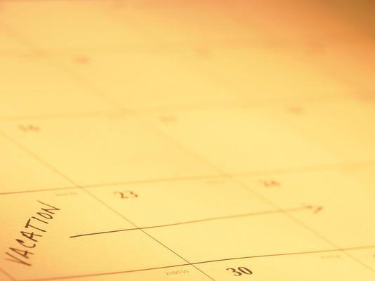 web - Calendar page