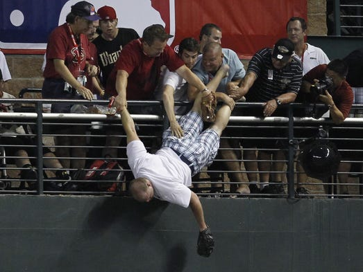 Chase Field has seen a little bit of everything through