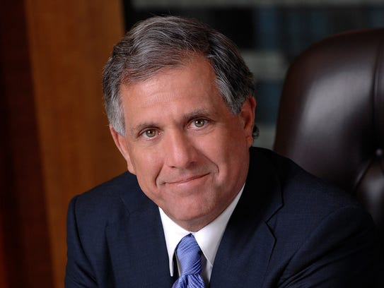 CBS CEO Leslie Mooves