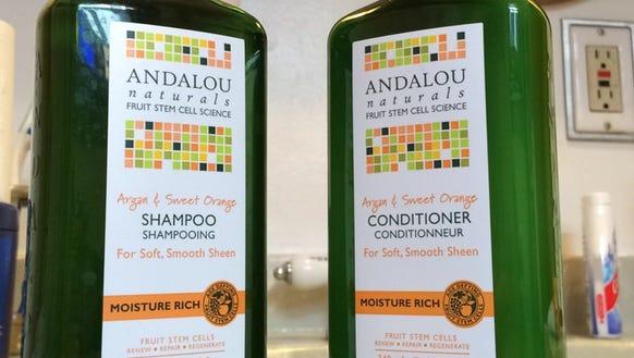 I've discovered Andalou Argon and Sweet Orange Shampoo