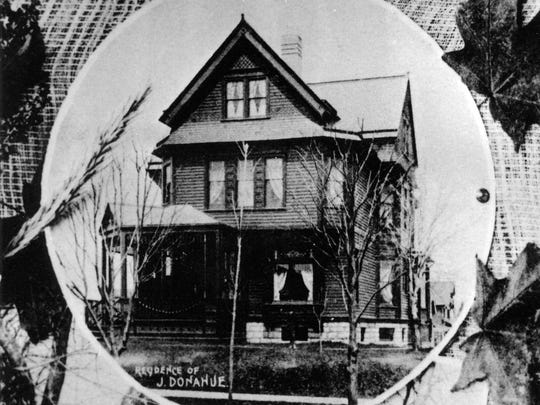 Jerry Donohue residence, 504 Ontario Avenue, was home