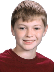Nicholas Ivan, 13, from Sycamore School in Indianapolis