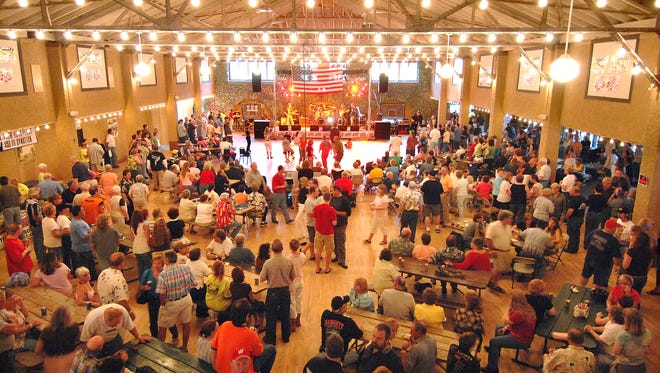 The Rothschild Pavilion hosts a Rock 'n Roll Revival with a packed house in this June 2007 file photo.