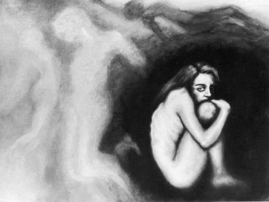 anorexia illustration